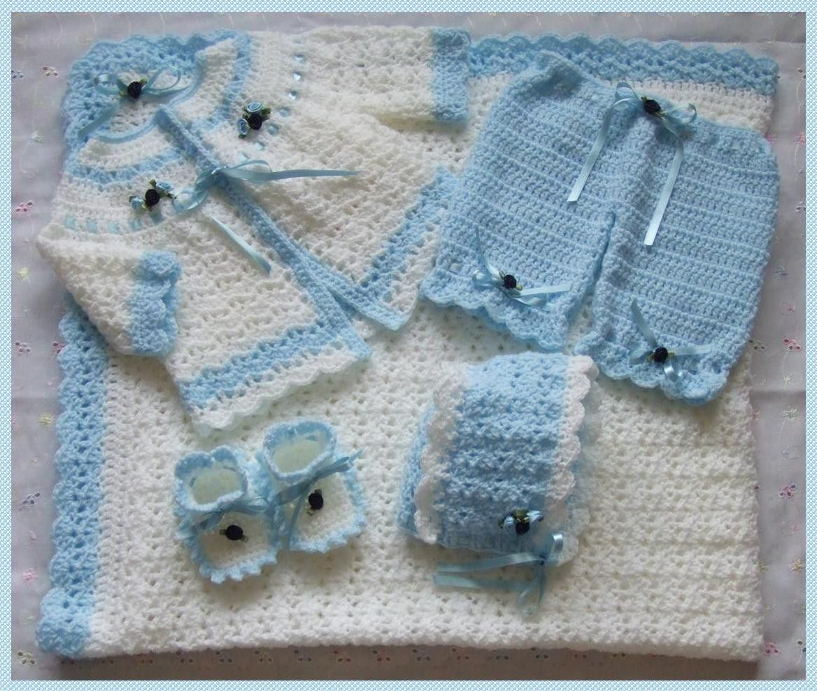 How to Crochet a Baby Layette | eHow.com | Grand babies are us ...