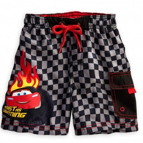 d03659802088b Baby will tread water like a winner in our Cars swim trunks featuring  Lightning McQueen.