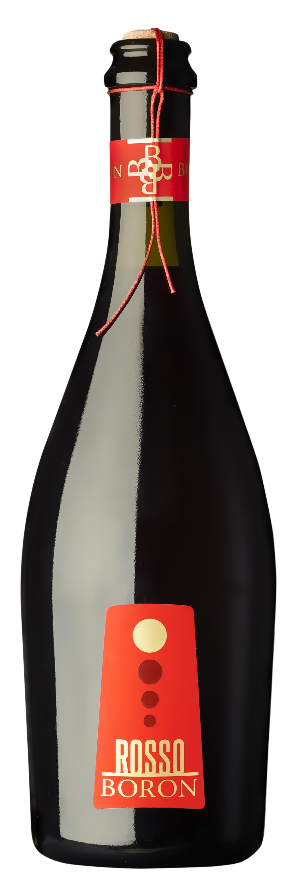 Rosso Boron Vino Rosso Frizzante Confezione Spago Famiglia Boron Just Wine Wine Bottle Wine