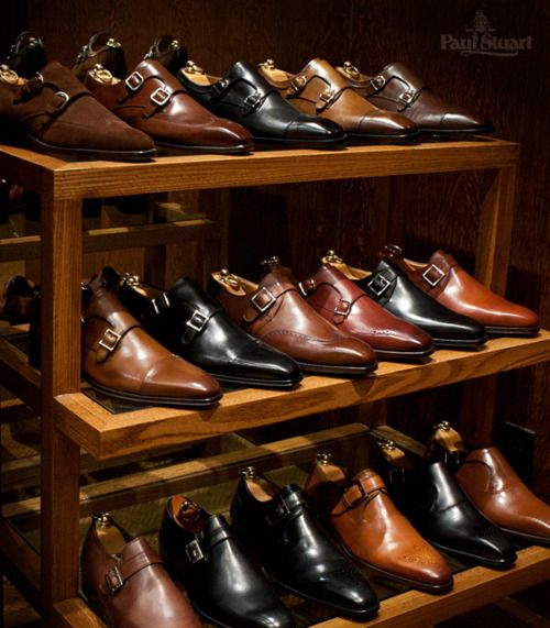 An extensive collection of Monk Straps, only at Paul Stuart  Shop the Collection