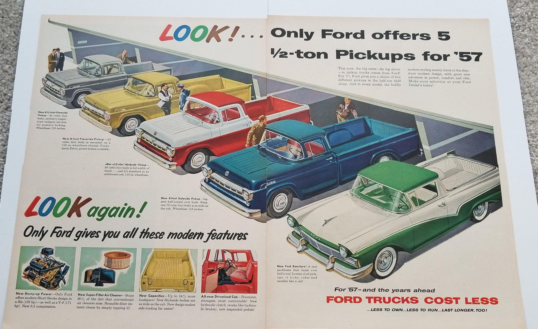 Original 1970 1//2 Ford Falcon Sales Brochure 70