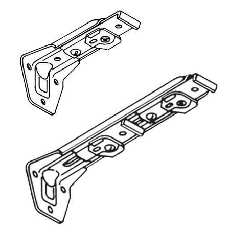 Kirsch Superfine Traverse Rod Center Supports Supportive Rod