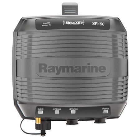 Raymarine E70161 SR150 SiriusXM Weather Receiver, Black