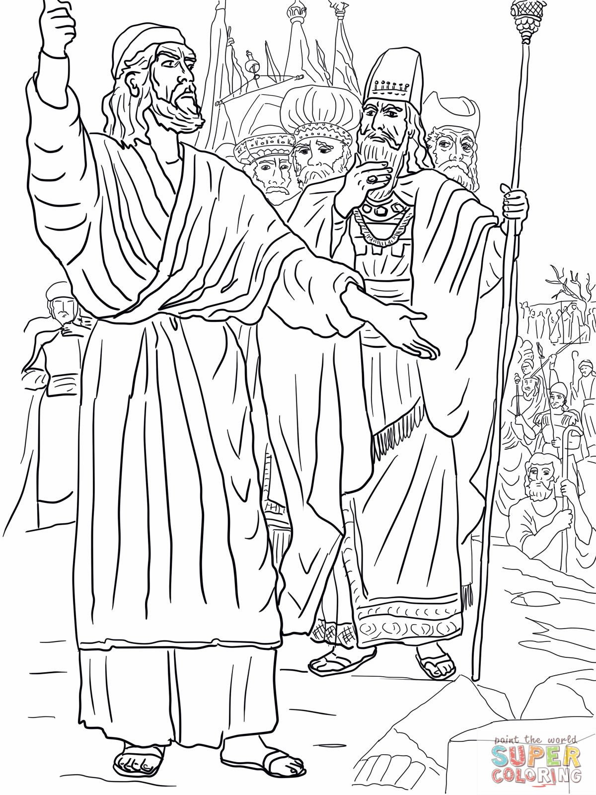 elijah and baal coloring page - baal of the bible coloring pages coloring page elijah