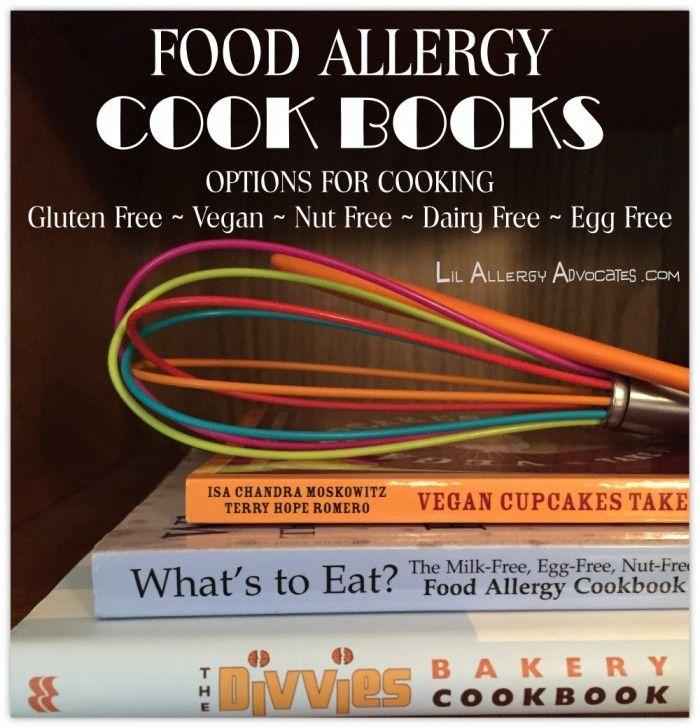 Food Allergy Cookbooks Food allergies, List of food