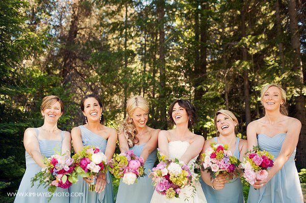 Dusty Rose Outdoor Wedding Wedding dresses photos Wedding dress