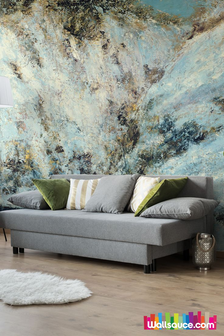 Snowy landscape oil on canvas wall mural wall murals