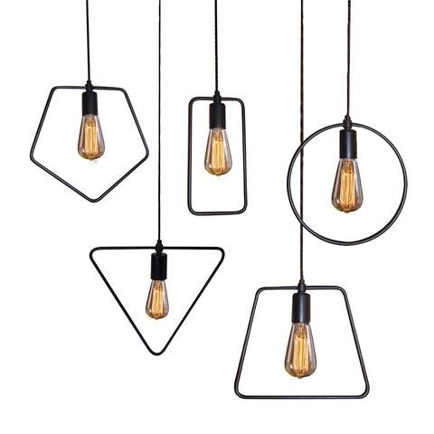 Geometric pendant lights five shapes family pinterest pendant geometric pendant lights five shapes mozeypictures Image collections