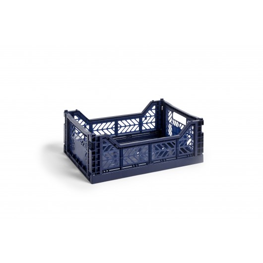 Caisse Crate M Bleu Marine Hay With Images Crates Hay Design Cleaning Clothes
