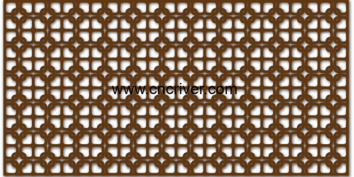 seamless ornamental pattern dxf file for CNC machine projects  This