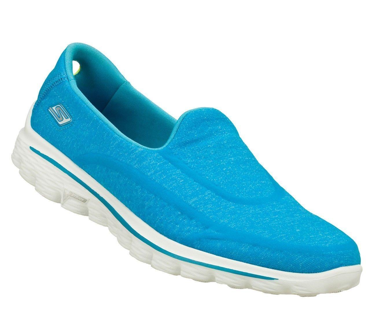 Skechers Womens Go Walk 2 Super Sock Walking Memory Foam