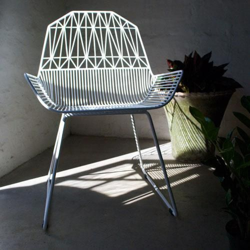 "Garden Furniture Los Angeles www.pottedstore - bend ""farmhouse"" chair in modern outdoor"