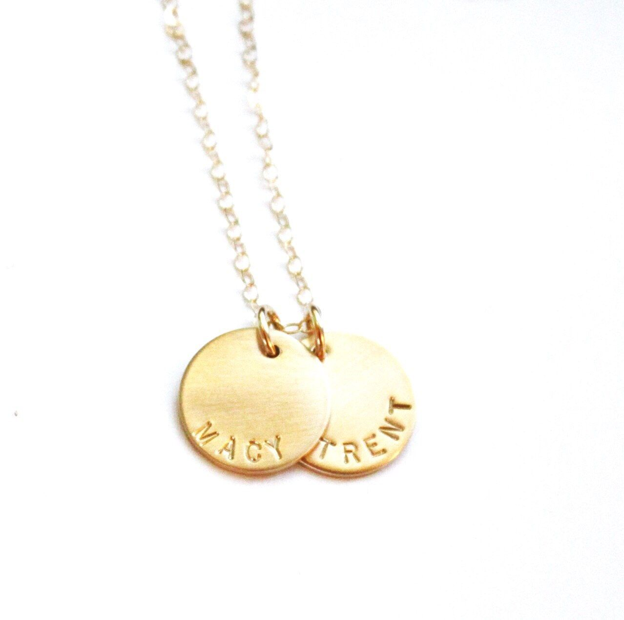 Custom Name Necklace Silver Gold Necklace Personalized Necklace