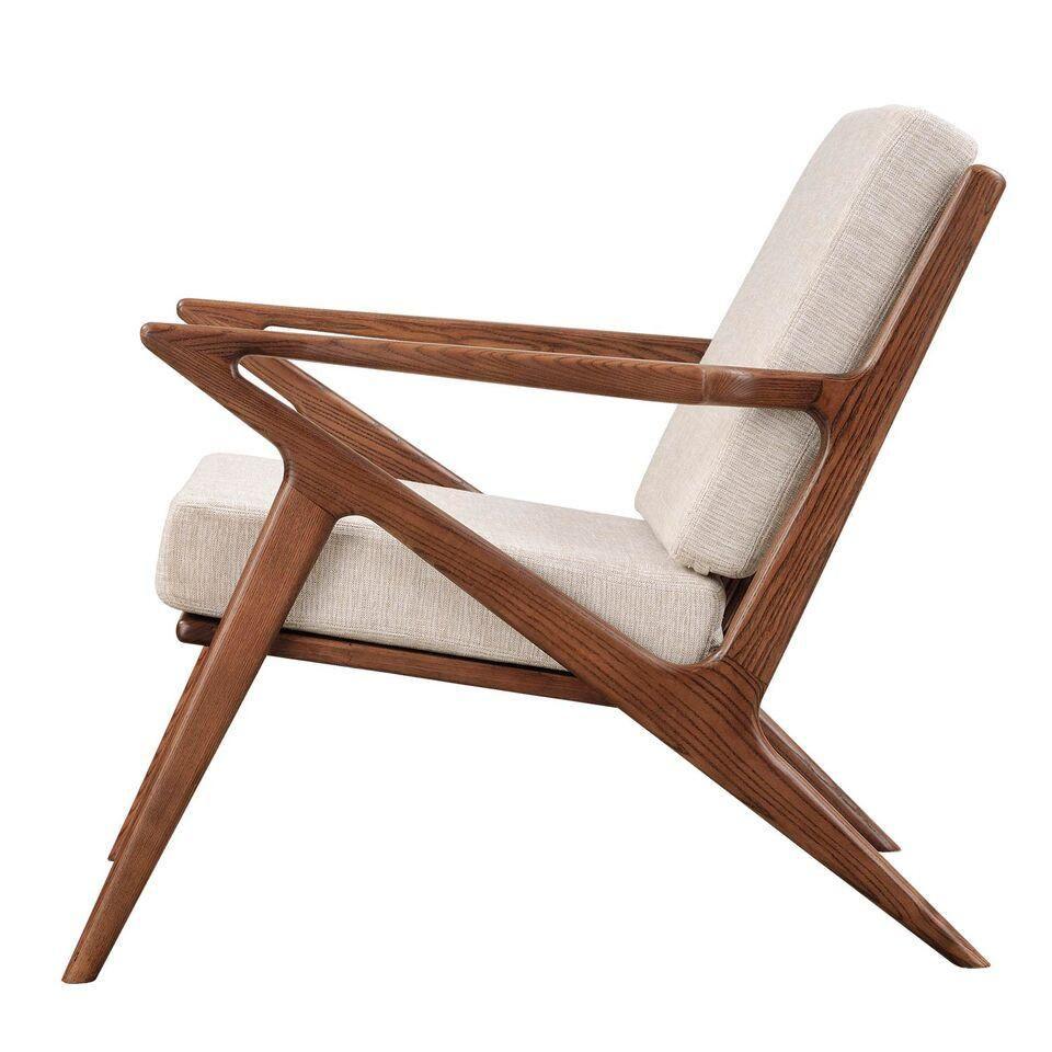 Poul Jensen Style Oatmeal Gray Selig Z Chair Emfurn 7