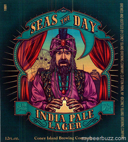 Coney Island Brewing Seas The Day India Pale Lager