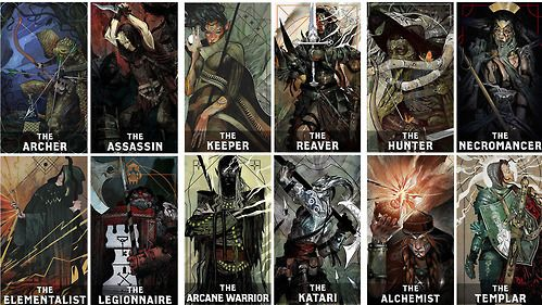 A Gallery For Inquisitor Tarot Cards
