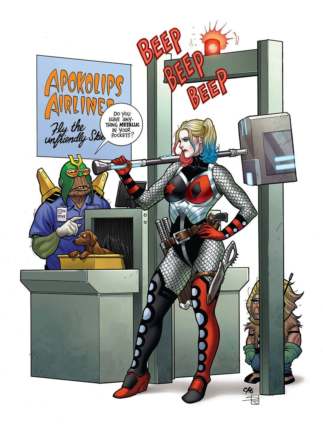 Harley Quinn 46 Variant Cover By Frank Cho Colours Sabine Rich