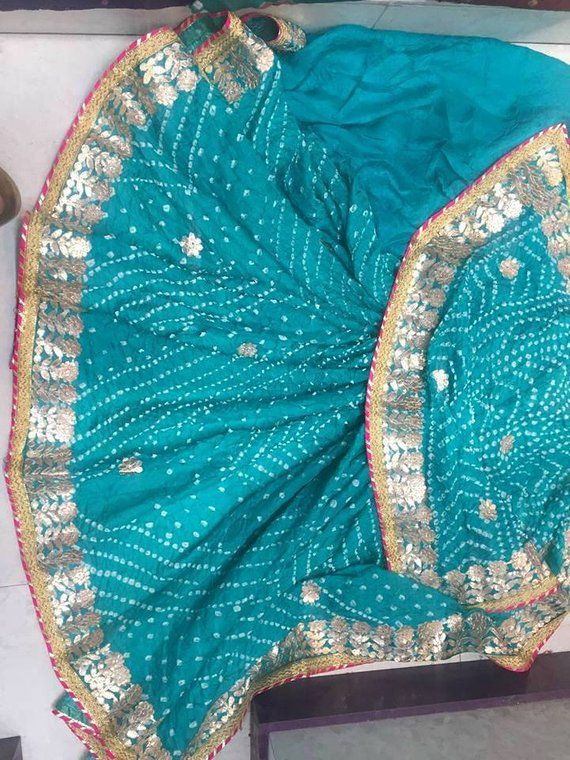 81cca129dc Indian Saree Traditional Saree Silk Bandhej Saree Rajasthani Bandhani Saree  Handmade Indian rajast
