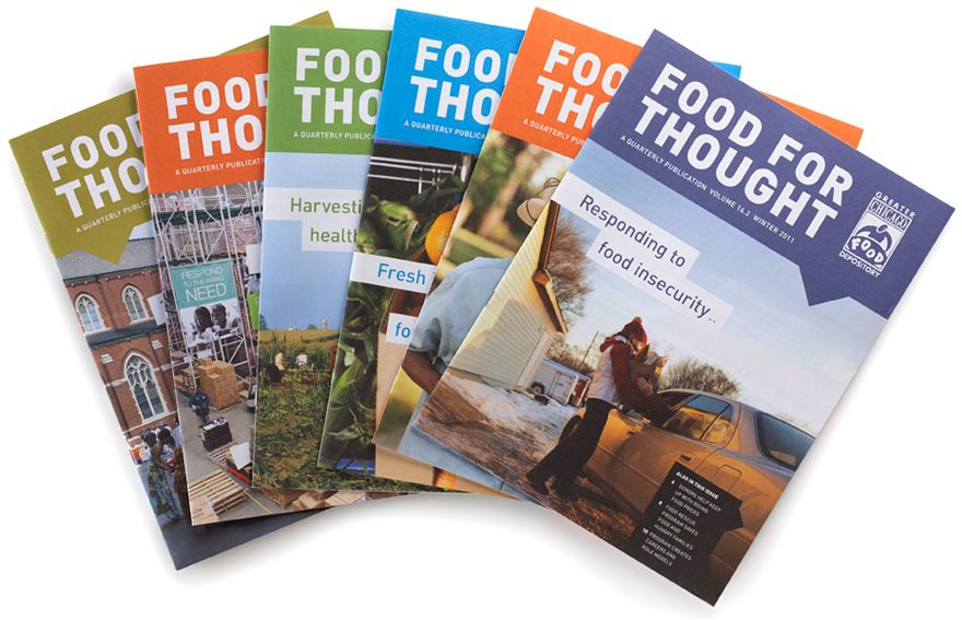 Greater Chicago Food Depository Publication Design Non