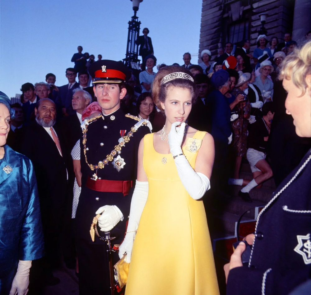 The Young Princess Anne's Most Noteworthy Royal Ensembles
