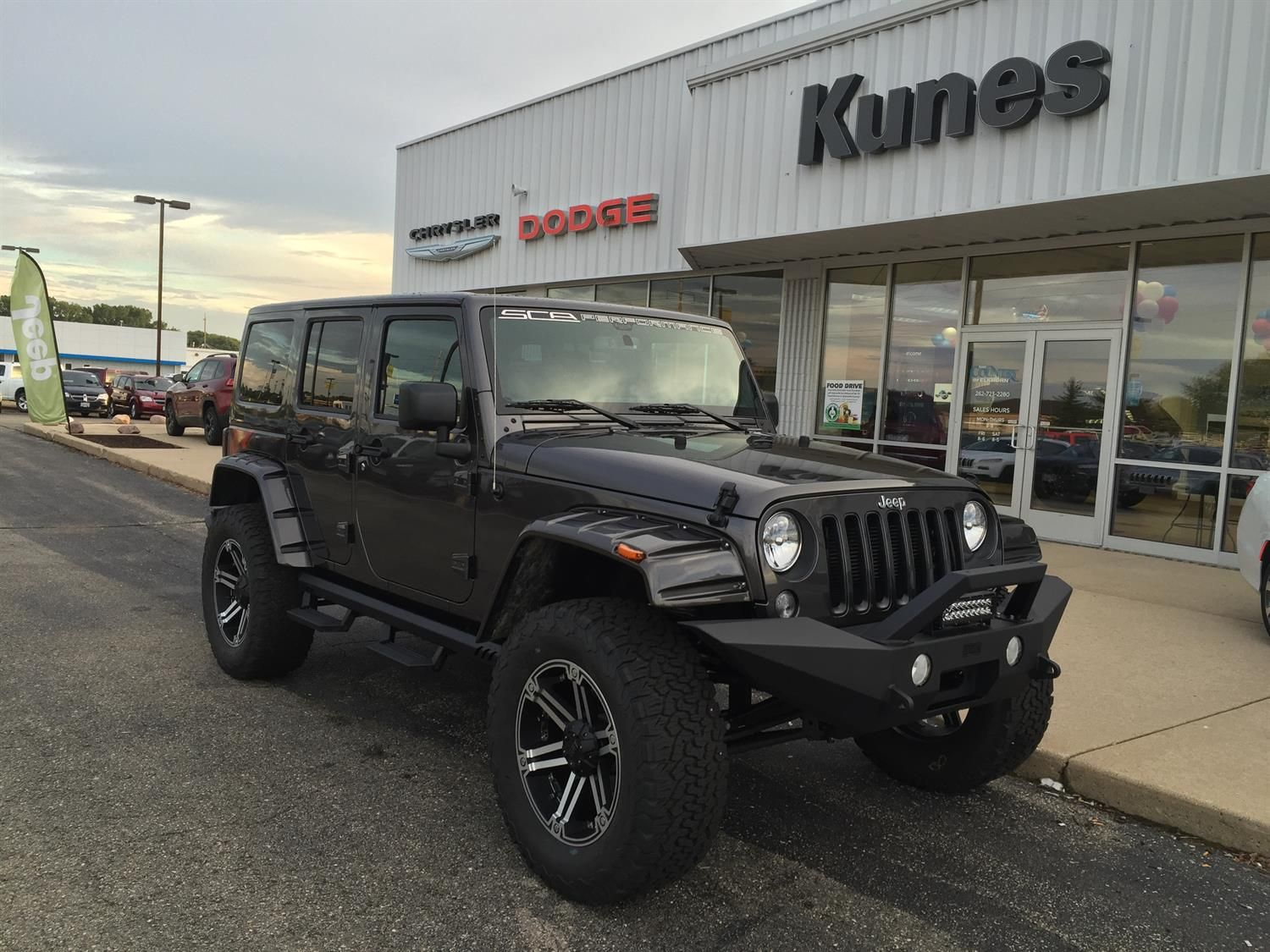 Jennifer S New 2016 Jeep Wrangler Congratulations And Best Wishes From Kunes Country Cdjr Of Elkhorn And Eduardo H 2016 Jeep Wrangler Jeep Chrysler Dodge Jeep