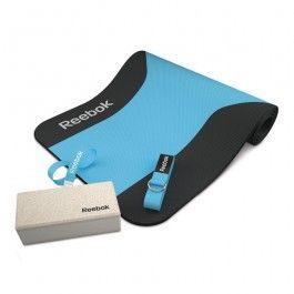 Recogiendo hojas Proverbio idioma  Kit Yoga Reebok color azul. Con el Yoga Set dispondrás de los ...