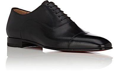 9431125136c Christian Louboutin Greggo Flat Leather Balmorals - Oxfords - 504761983