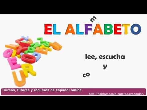 Videos El Alfabeto The Spanish Alphabet A1 Easy Spanish
