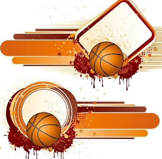 Free Vintage Grunge Splash Basketball Background Vector Titanui Basketball Background Vintage Grunge Illustration