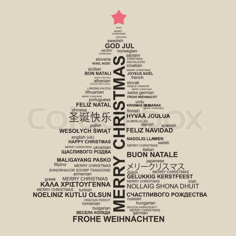 Frohe Weihnachten Auf Allen Sprachen.Frohe Weihnachten Auf Verschiedenen Sprachen Sagen Sie S Mal