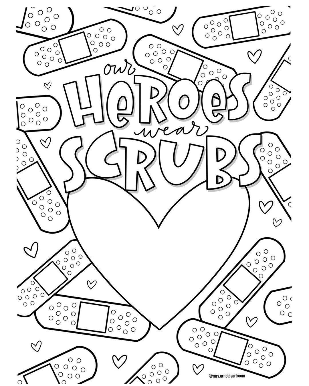 Jessie Arnold S Instagram Post Happy Internationalnursesday If You Ve Ever Been In The Hospital For Any Coloring Pages Instagram Posts Calligraphy Design