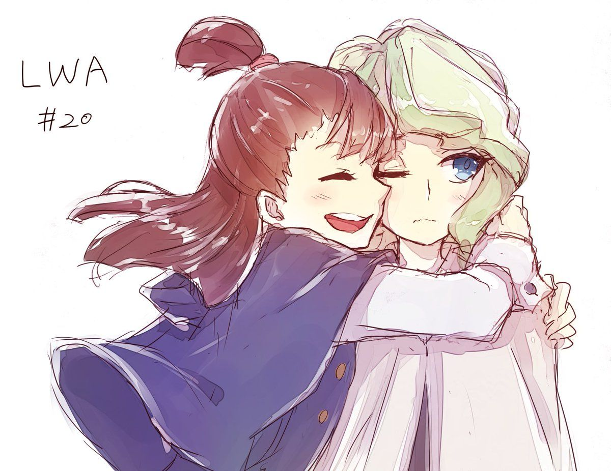Pin By Icedragonslayer On Little Witch Academia Anime Sisters Little Witch Academy My Little Witch Academia
