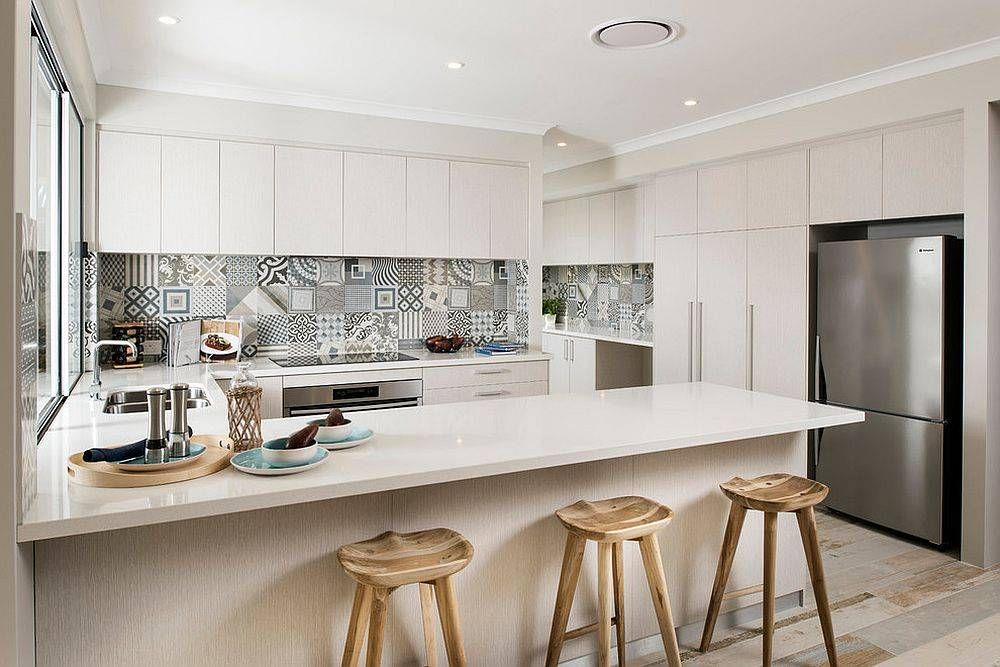 Idee di piastrelle patchwork cucina cucine