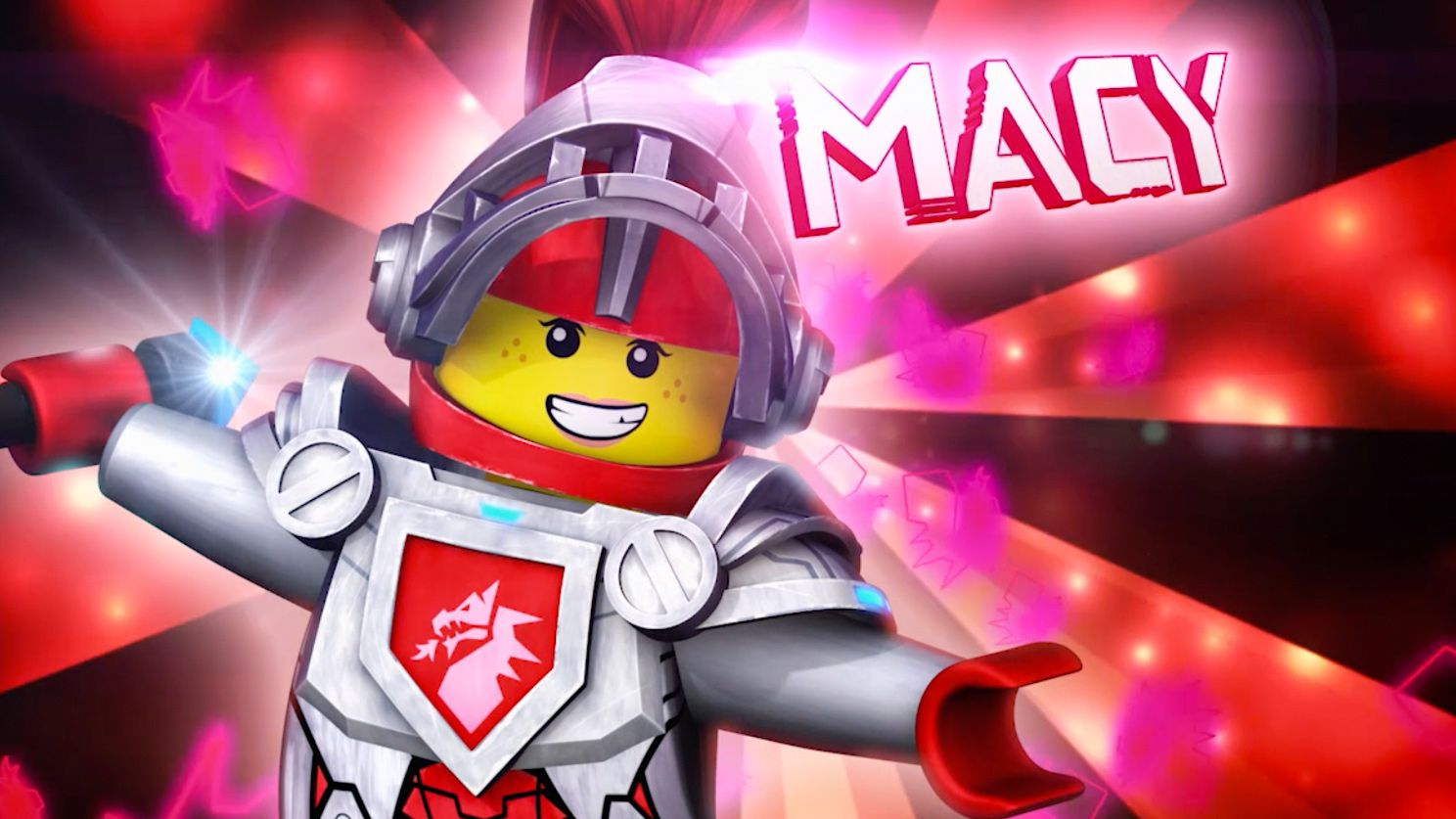 macy characters nexo knights cartoons pinterest jungs and ideen. Black Bedroom Furniture Sets. Home Design Ideas