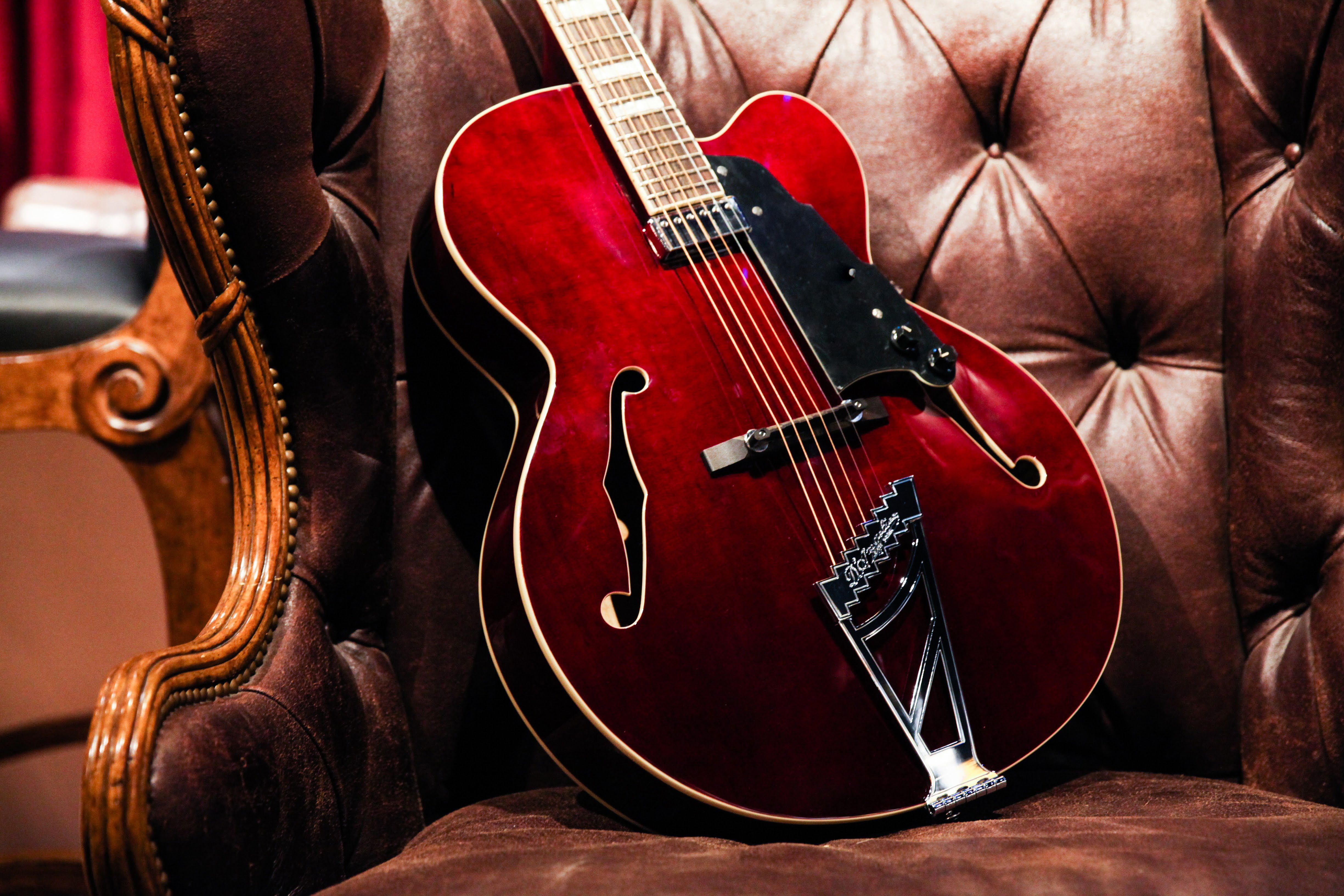 D Angelico Premier Series Exl 1 Hollowbody Electric Guitar With Stairstep Tailpiece Guitar Electric Guitar Supro