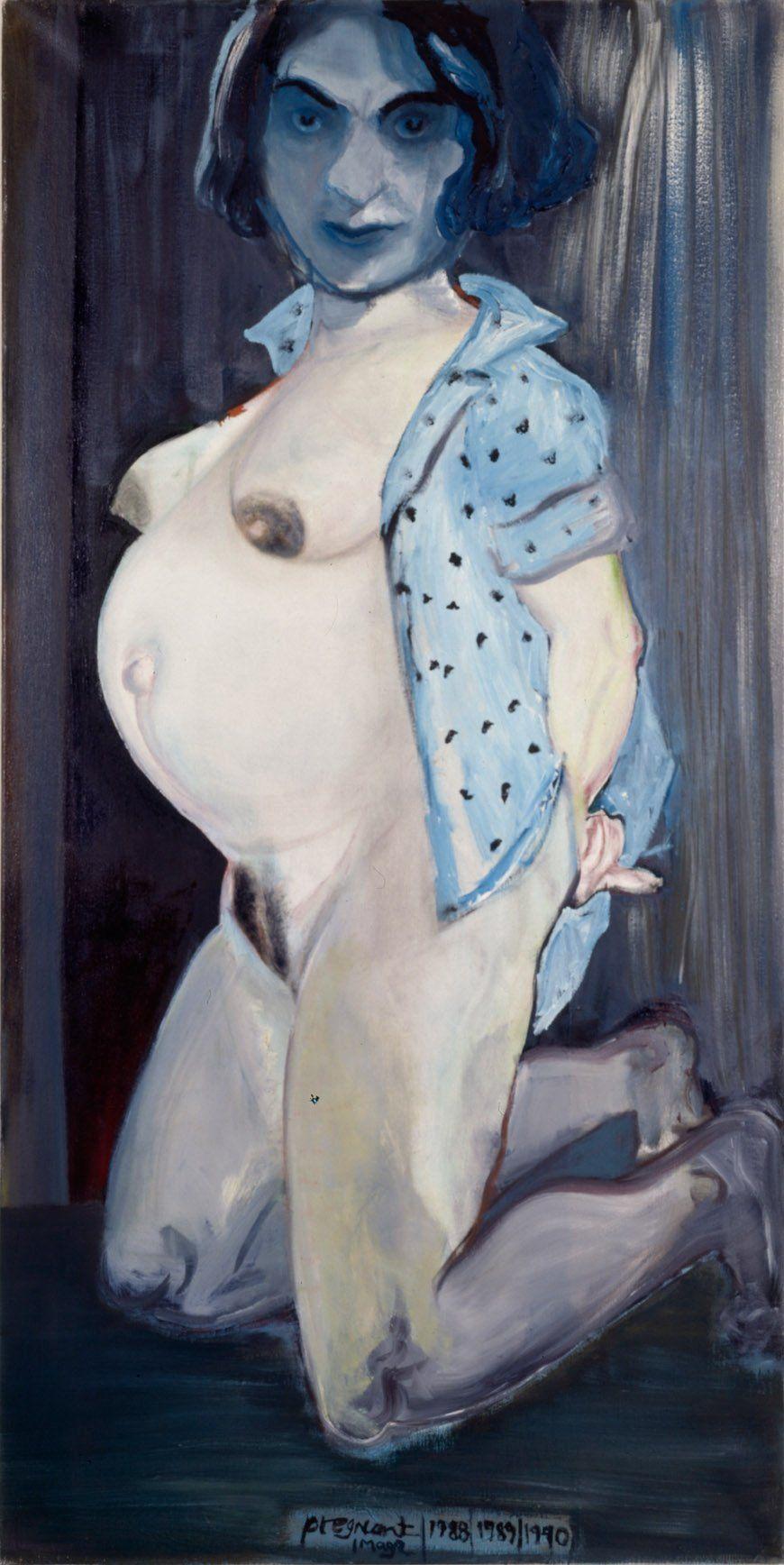 Marlene Dumas, The Great Mother, 1988-1990