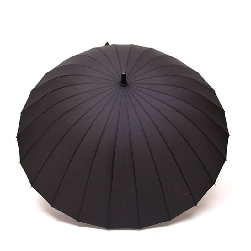 69041ae2ee3b 24k Rib Men Women 11 colors sale rain Umbrella golf Windproof Long ...