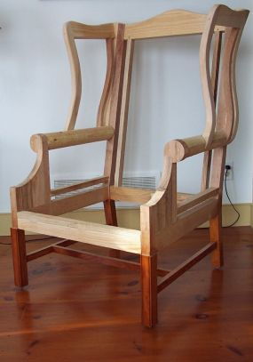 Upholstered Wing Chair Reader S Gallery Fine Woodworking Furniture Design Furniture Furniture Upholstery