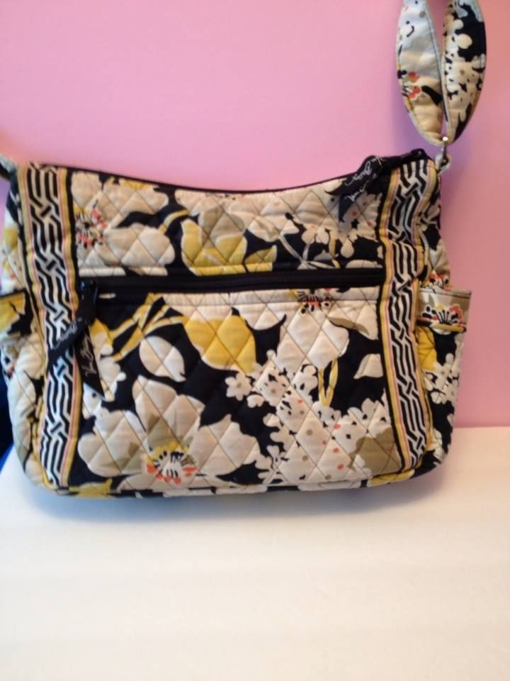 Vera Bradley On the Go Crossbody Bag in Dogwood #VeraBradley #Hobo