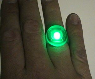 110a74b4e6b How to Make a Green Lantern Ring- Including a Glowing Version ...