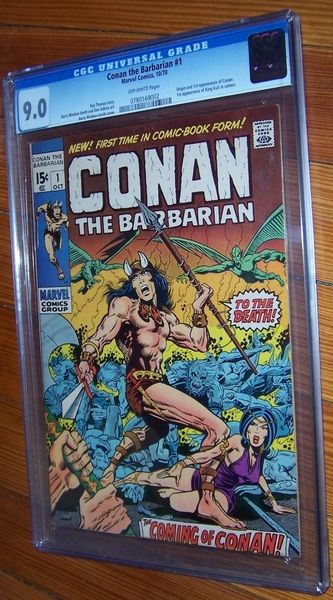 Conan 1 CGC 9.0