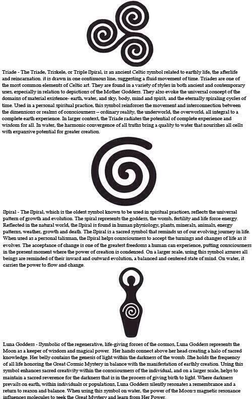 Celtic symbols | Celtic symbols, Wiccan symbols, Symbols