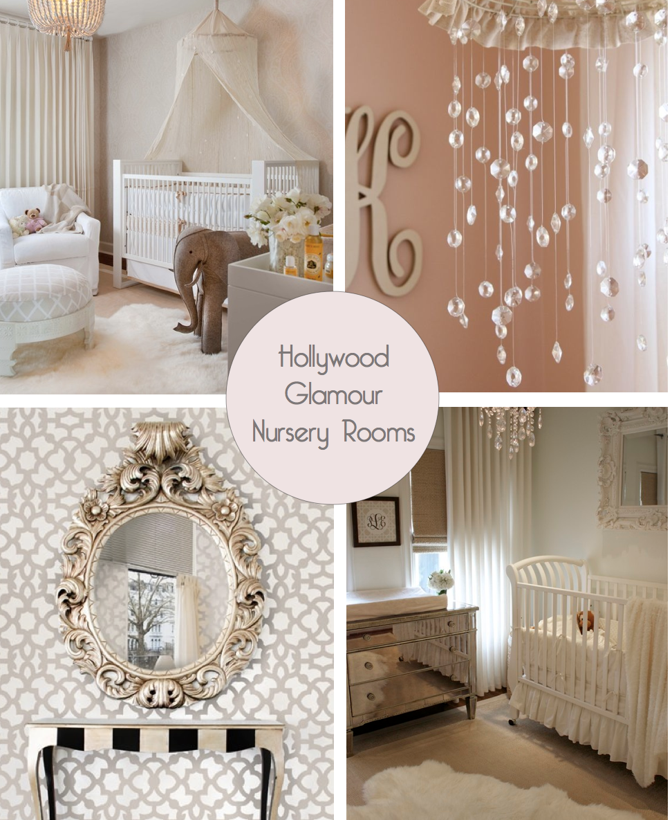Dream Nursery Old Hollywood Glamour With A Dash Of Shabby Chic