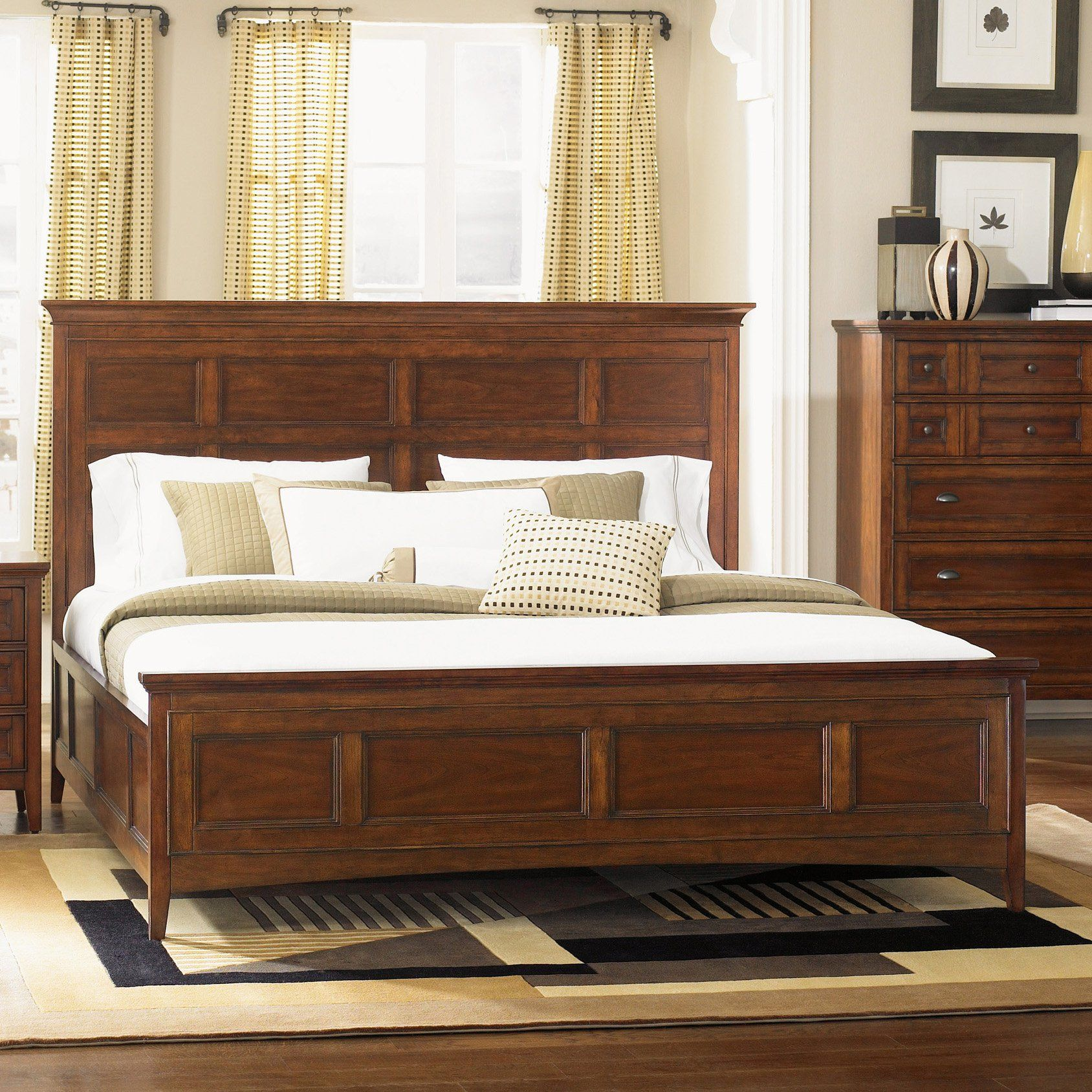 Magnussen Harrison Low Profile Bed Set From Hayneedle