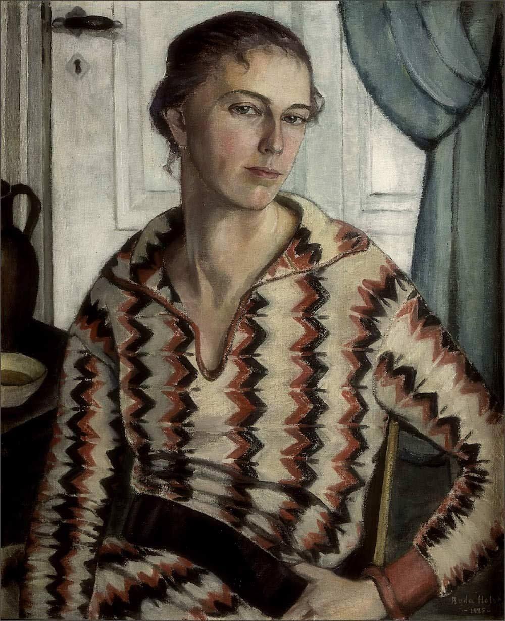 Agda Holst · Self Portrait · 1925 · Unknown location