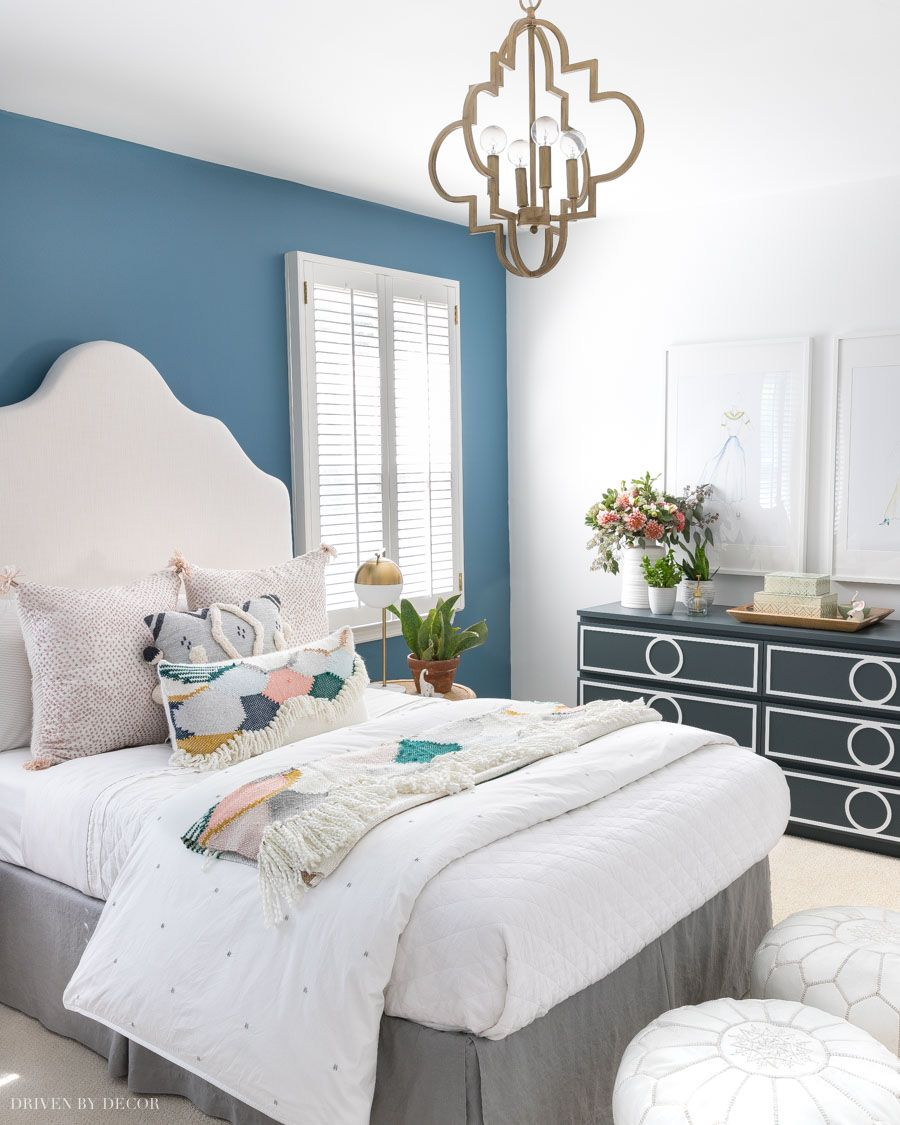 The 8 Best Blue Paint Colors Readers Favorites Driven By Decor Home Decor Bedroom Makeover Chic Bedroom