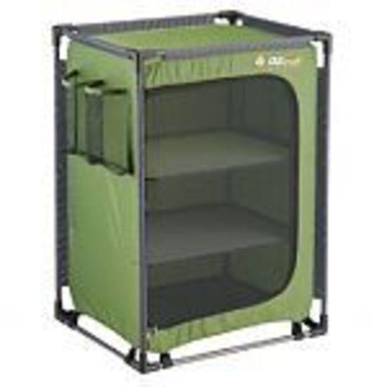 Oztrail 3 Shelf Camp Cupboard Oztrail Camping Furniture Camp Furniture Cupboard Storage
