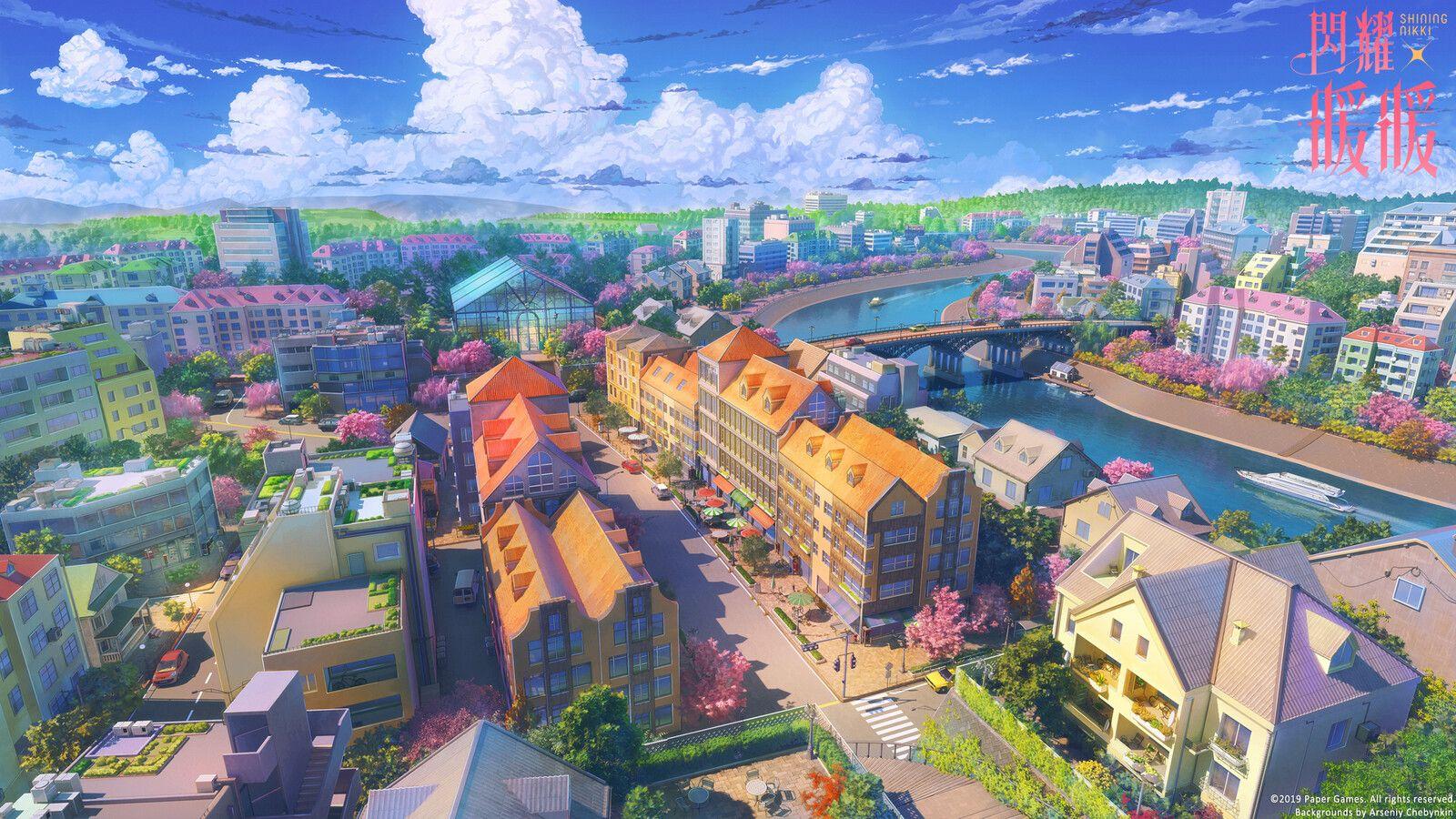 Garden city [Shining Nikki], Arseniy Chebynkin