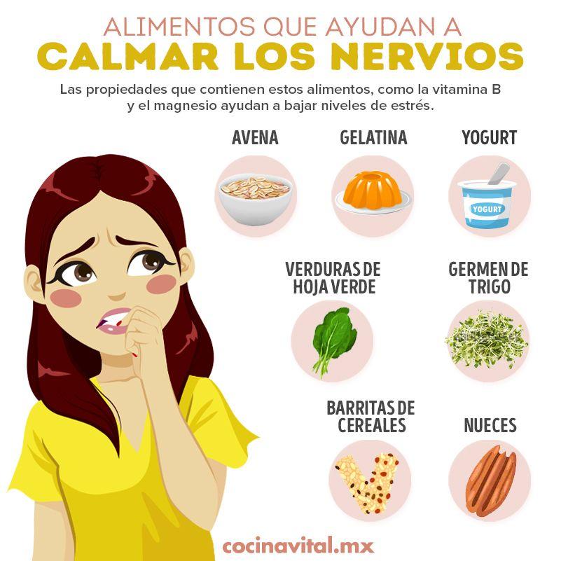 Alimentos Que Te Ayudan A Calmar Nervios Y Estres En 2020 Nutricion Alimentos Nutricion Recetas