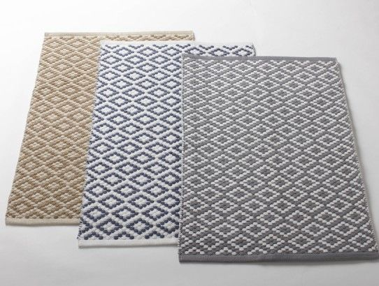 Organic Cotton Fair Trade Rugs And Runners Small Sizes Available For Kitchen